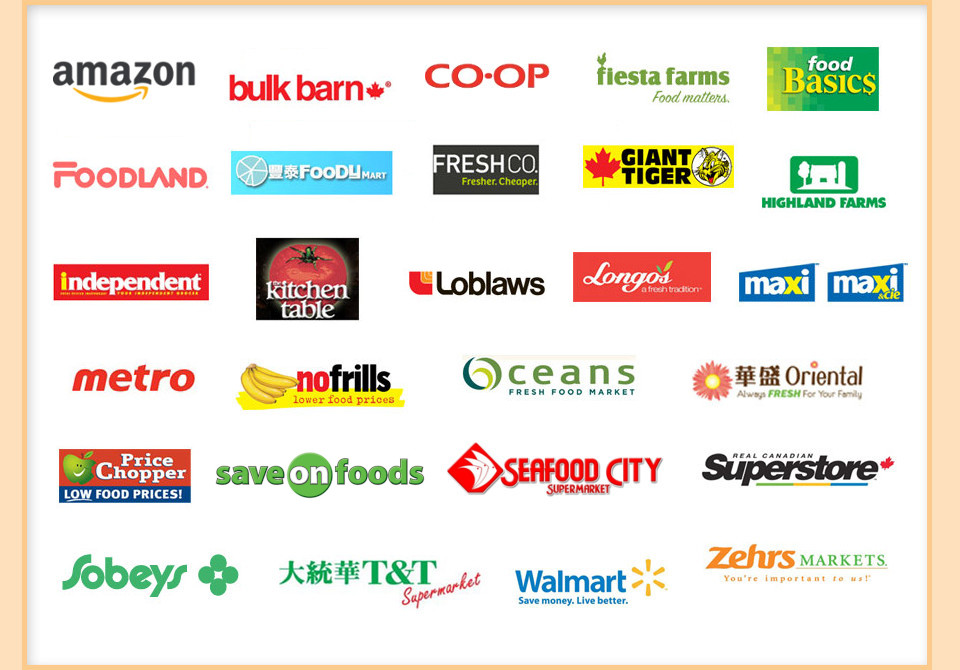 Brands of stores